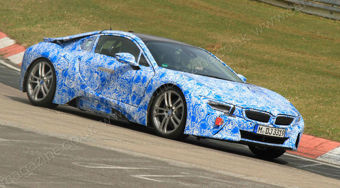 Pas de version 'M' de la BMW i8