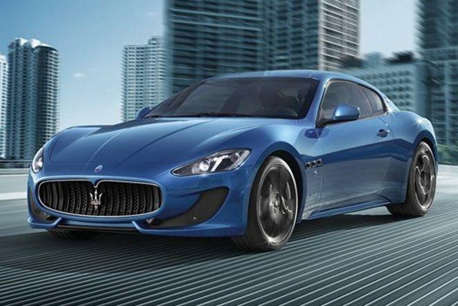 Salon de Genève 2012 - Voici la Maserati GranTurismo Sport
