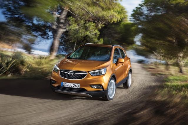 Salon de Genève 2016 - Opel Mokka X: connecté