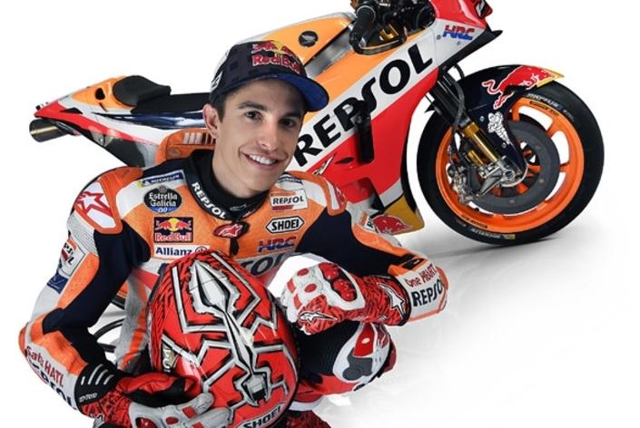 Marc Marquez a prolongé avec Honda jusqu'en 2020