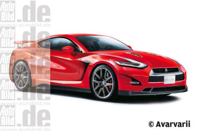Future Nissan GT-R  : comme ça et avec 600 ch ?