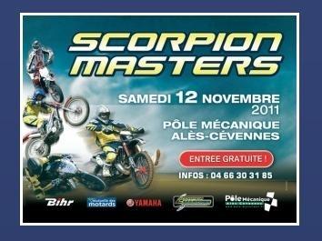 Scorpion Masters :  Une belle brochette de champions en piste samedi