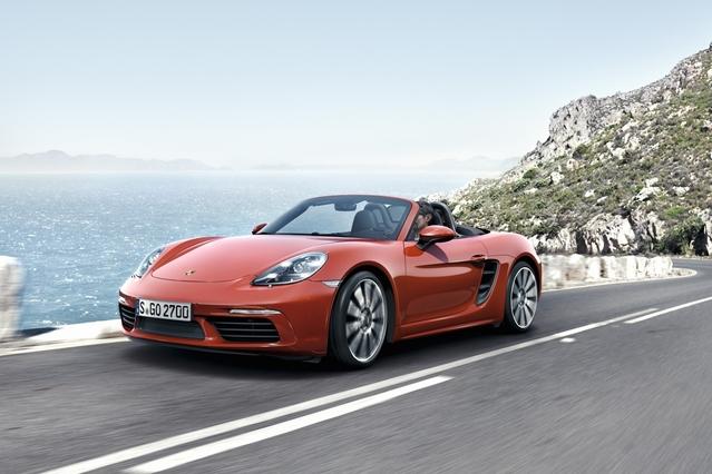 Salon de Genève 2016 - Porsche 718 Boxster : puissance 4