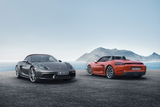 718 Boxster et Boxster S