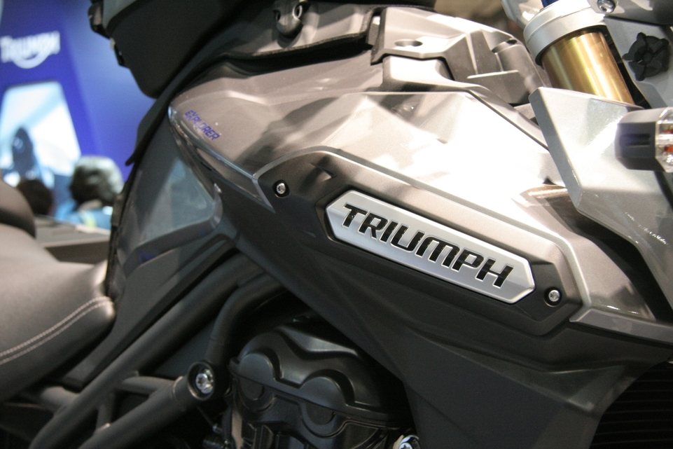 En direct du Salon de Milan : Triumph Tiger Explorer