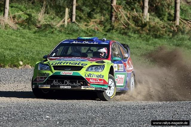 WRC Nlle-Zélande Jour 1 : Hirvonen profite
