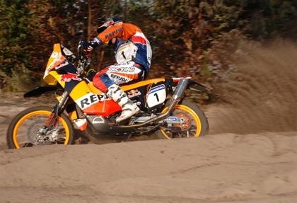 Dakar 2007 : étape 3, Coma gagne, Faria rame
