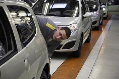 Renault Twingo 2: la fabrication a démarré