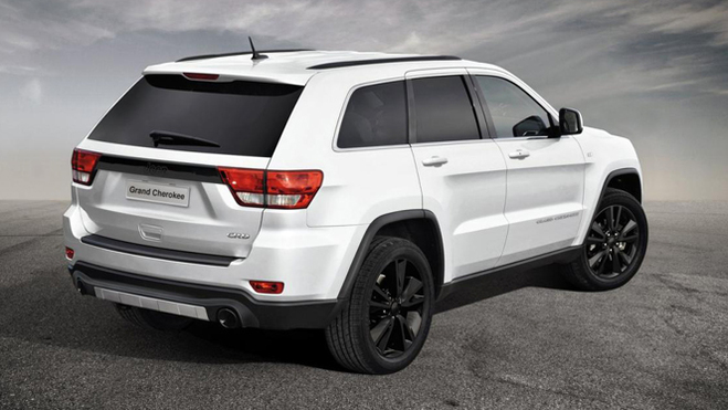 Un Jeep Grand Cherokee Sports Concept au Salon de Genève