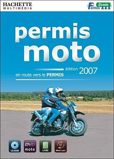 DVD interactif : Permis moto 2007