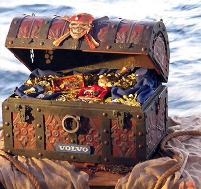 Volvo: la chasse aux trésors