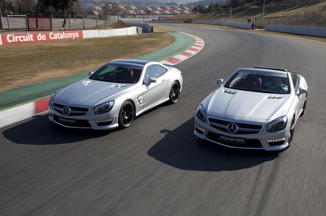 Salon de Genève 2012 - Nouvelle Mercedes SL63 AMG