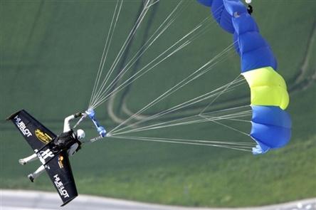 Insolite : Yves Rossi en transport pas commun