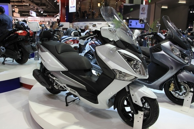 En direct du salon de Milan 2011 : Sym GTS Evo 125 cm3/300 cm3
