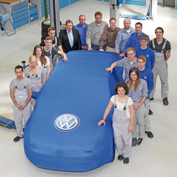 Une Volkswagen Golf GTI en teasing...