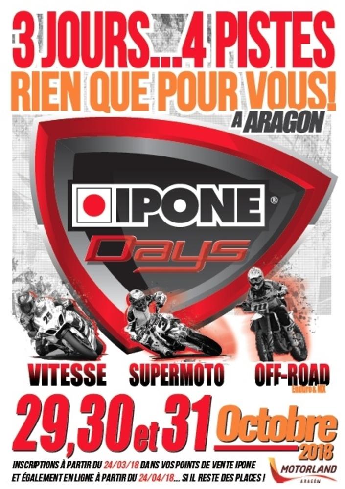 Ipone Days 2018: du 29 au 31 octobre 2018 à Aragon (Espagne)