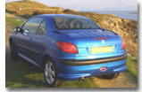 La Peugeot 206 CC :   Un vrai piège à garçons