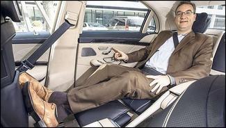 Mercedes Classe S : l'intérieur se dévoile un peu plus