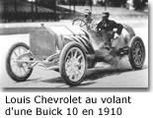 Chevrolet Fondée en 1911 par Louis Chevrolet
