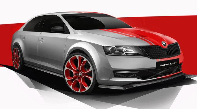 Wörthersee 2013 : Skoda Rapid Sport Concept