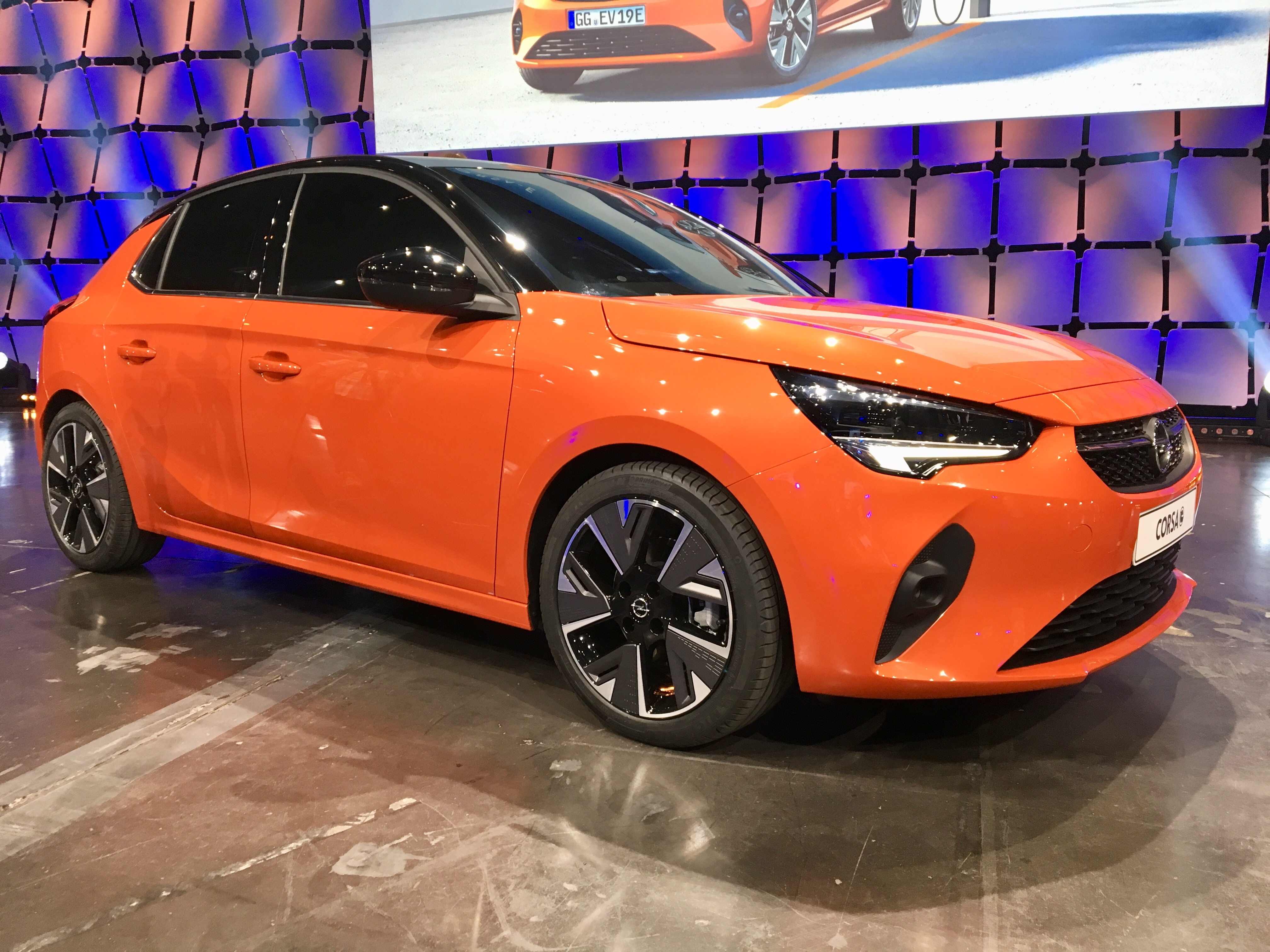 Salon De Francfort 2019 Opel Corsa La Premi 232 Re De L