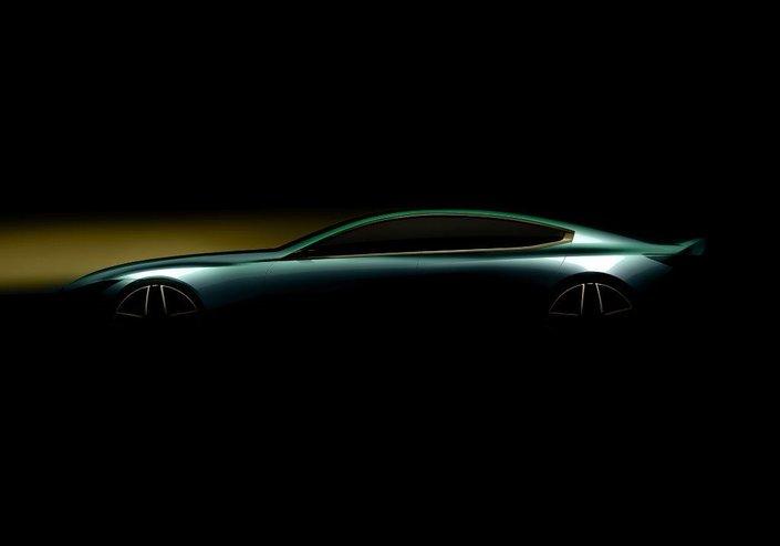 Salon de Genève 2018 - BMW tease un coupé quatre portes
