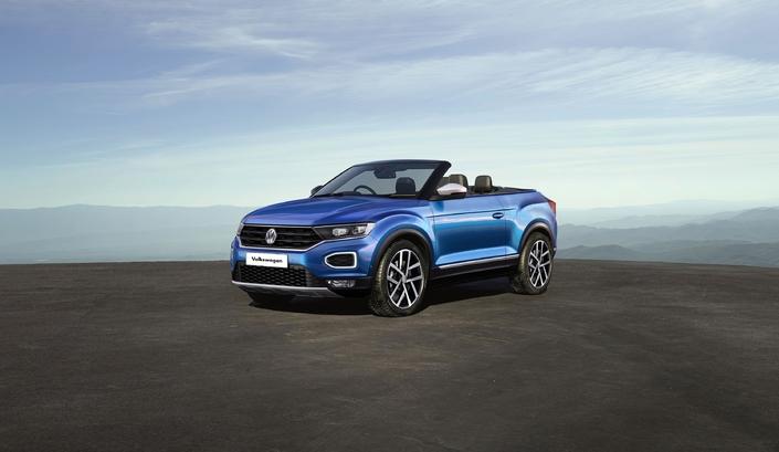 Futur Volkswagen T-Roc cabriolet : comme ça ?