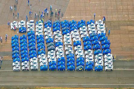 Hommage à McRae : 1100 Subaru pour une file de 45 km !