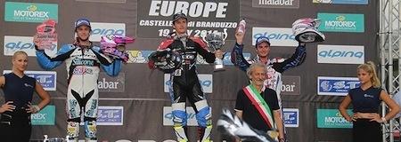 Championnat du monde Supermotard 2014, round 5: Lazzarini gagne, Hermunen reprend les rênes