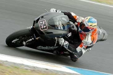Supersport: Phillip Island Test D.2: Honda recolle