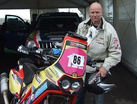 Eric Palante, pilote de rallye, un Belge au moral d'acier