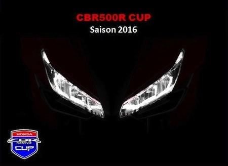 Honda CBR500R Cup 2016: ça recommence bientôt