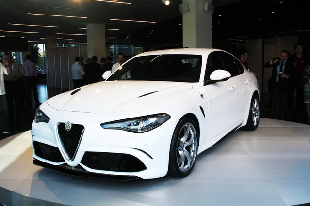 Salon de de Genève 2016 – Alfa Romeo Giulia : les versions grand public
