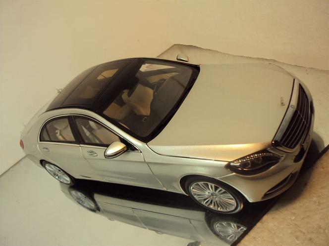 Future Mercedes Classe S : surprise ... en modèle réduit