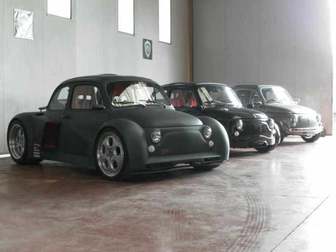 Fiat 500 V12 Oemmedi : elle roule (vidéo)