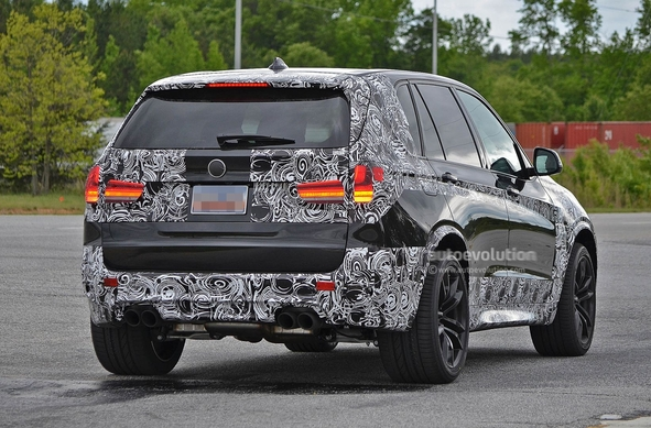 Surprise : le futur BMW X5M 15
