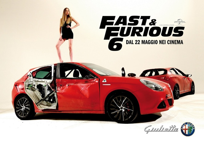 Fast & Furious 6 : avec des Alfa Romeo Giulietta dedans