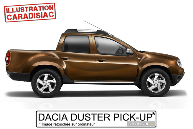 mondial de paris 2014 le dacia duster pick up y serait. Black Bedroom Furniture Sets. Home Design Ideas