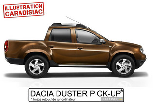 Mondial de Paris 2014 - Le Dacia Duster Pick-Up y serait