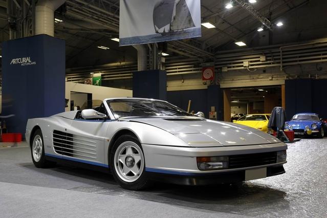 Ferrari Testarossa : un modèle unique réalisé pour Giovanni Agnelli, mis aux enchères dans le cadre du Rétromobile