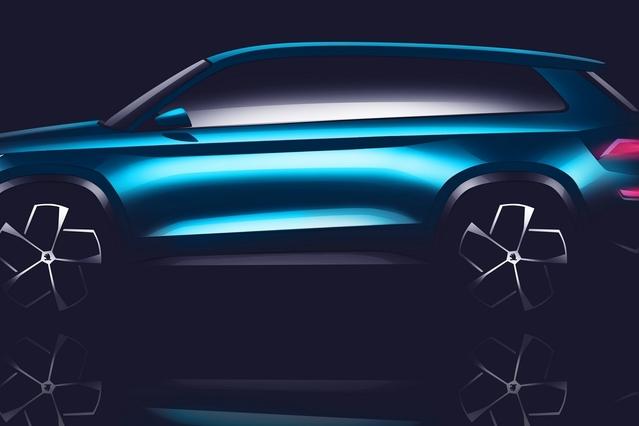 Salon de Genève 2016 - Skoda VisionS Concept : SUV à venir