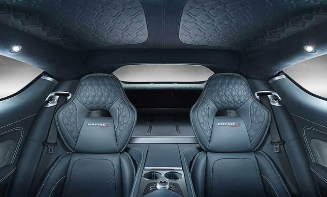 Les Aston Martin Vanquish et Rapide S évoluent