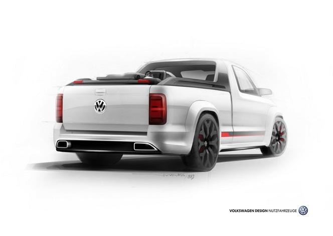 Wörthersee 2013 : Volkswagen Amarok R-Style Concept