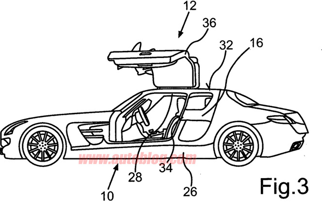 Une Mercedes SLS AMG 4 portes en préparation?
