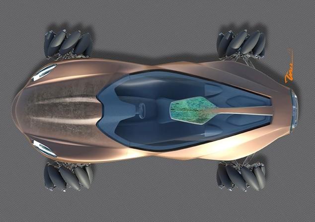 Jaguar Blue Concept: le béton au service de l'automobile...