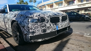 Surprise : la nouvelle BMW Série 5 se promène