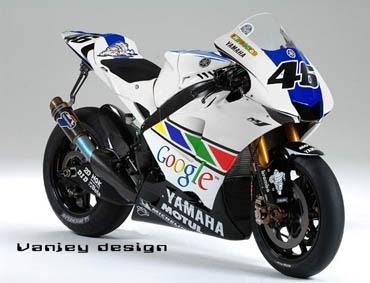Moto GP: Les couleurs virtuelles de Rossi