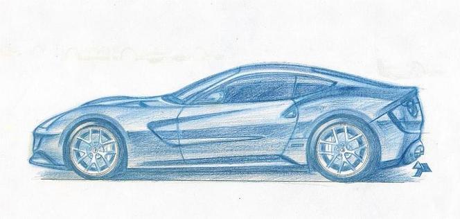 Future Ferrari 620 GT : comme ça ?