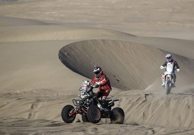 Dakar 2013 : Quad, J 4 et le début de course de Pascal Delesque