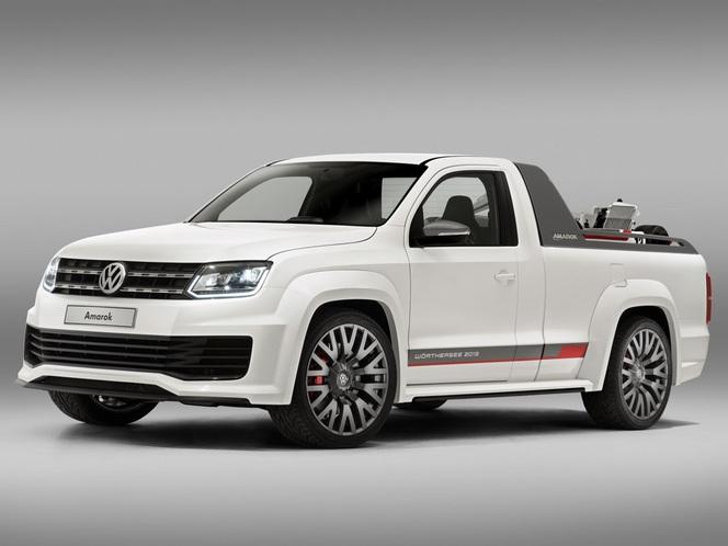 Le Volkswagen Amarok R-Style Concept en vrai